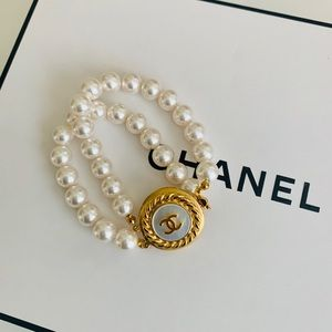 Chanel Repurposed Button Bracelet